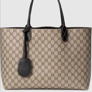 Gucci reversible bag.